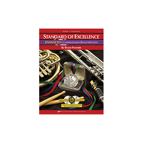 KJOS Standard Of Excellence Book 1 Enhanced Percussion thumbnail