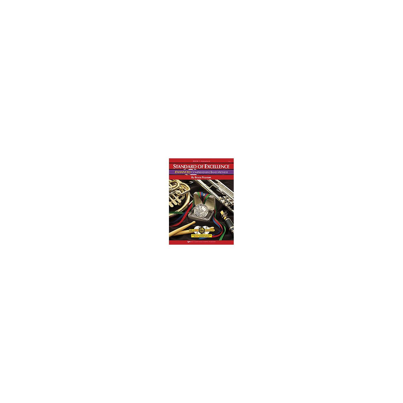 KJOS Standard Of Excellence Book 1 Enhanced Timpani/Aux Perc thumbnail