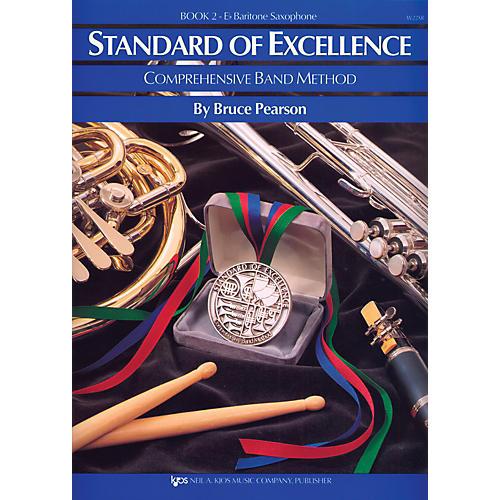 KJOS Standard Of Excellence Book 2 Bari Sax thumbnail