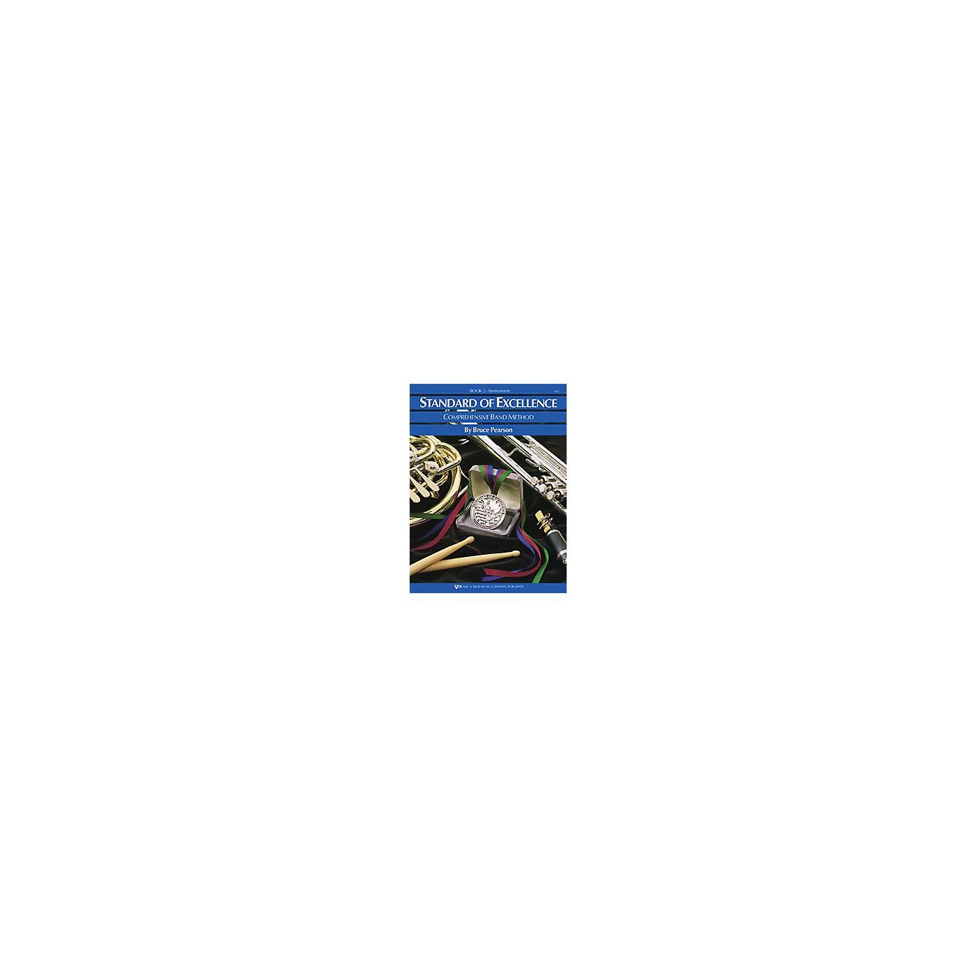KJOS Standard Of Excellence Book 2 Baritone Bc thumbnail
