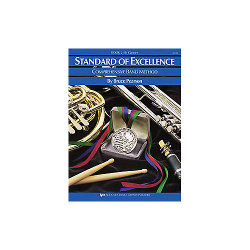 KJOS Standard Of Excellence Book 2 Clarinet thumbnail