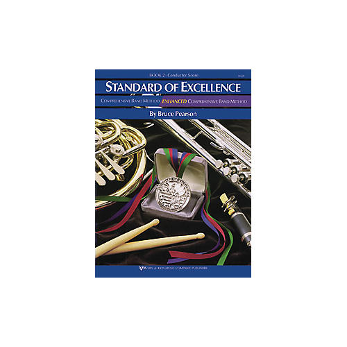 KJOS Standard Of Excellence Book 2 Conductor Score-thumbnail