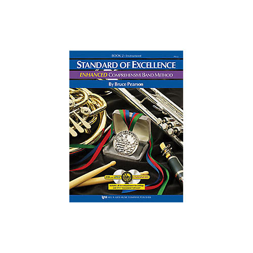 KJOS Standard Of Excellence Book 2 Enhanced Alto Sax-thumbnail