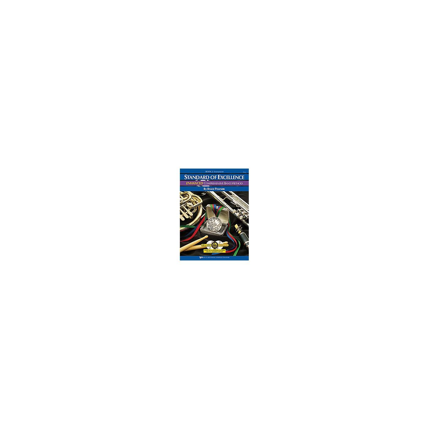 KJOS Standard Of Excellence Book 2 Enhanced Baritone Bc thumbnail