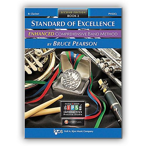 KJOS Standard Of Excellence Book 2 Enhanced Clarinet-thumbnail