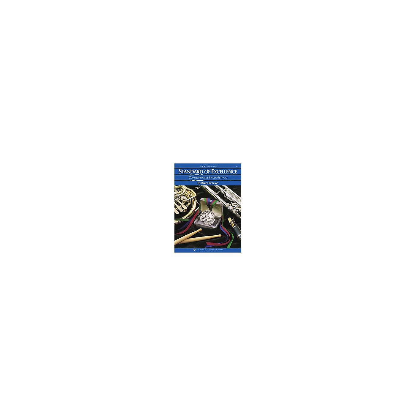 KJOS Standard Of Excellence Book 2 Tuba thumbnail