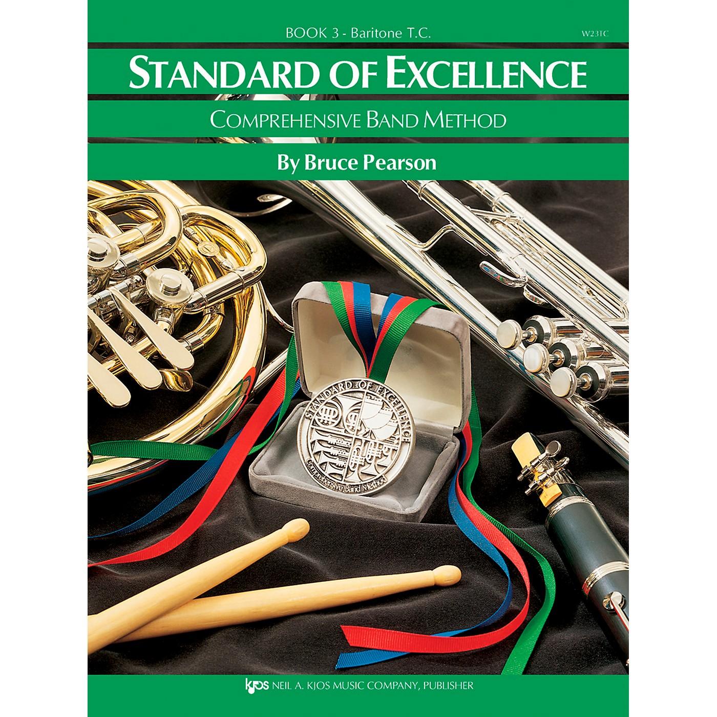 KJOS Standard Of Excellence Book 3 Baritone Tc thumbnail