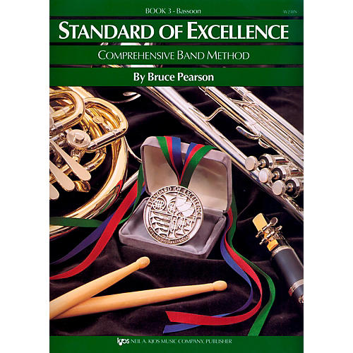 KJOS Standard Of Excellence Book 3 Bassoon thumbnail