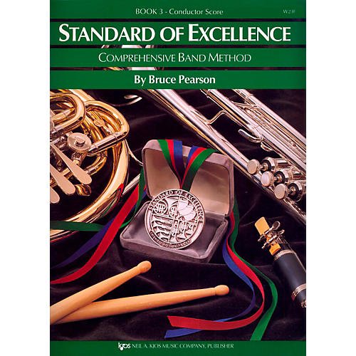 KJOS Standard Of Excellence Book 3 Conductor Score thumbnail