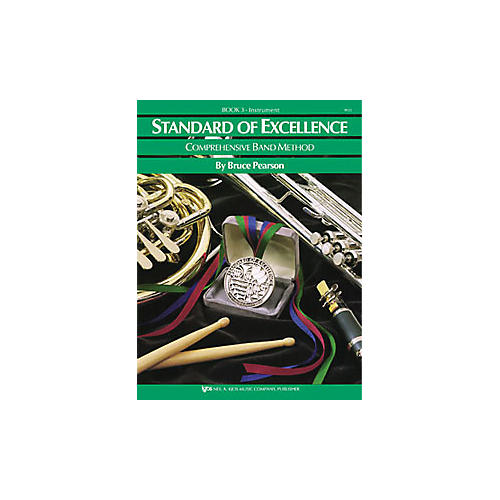 KJOS Standard Of Excellence Book 3 Drums/Mallet Percussion thumbnail