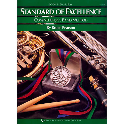 KJOS Standard Of Excellence Book 3 Electric Bass thumbnail