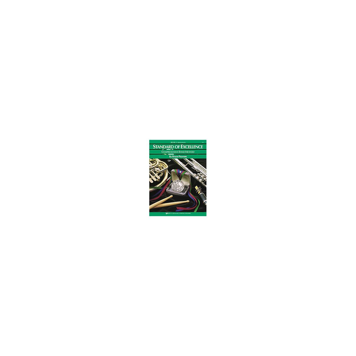 KJOS Standard Of Excellence Book 3 Trombone thumbnail