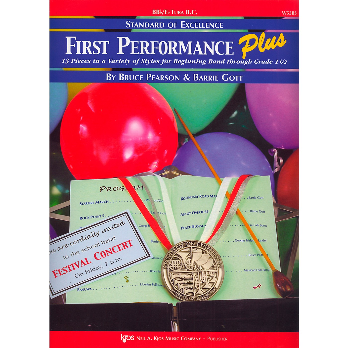 KJOS Standard Of Excellence First Performance Plus-BB/EB TUBA BC thumbnail