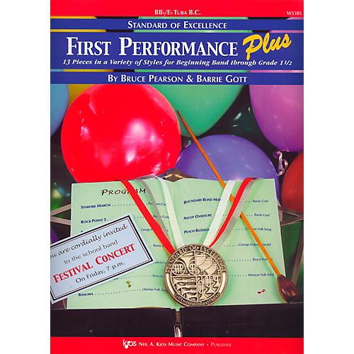 KJOS Standard Of Excellence First Performance Plus-BB/EB TUBA BC thumbnail