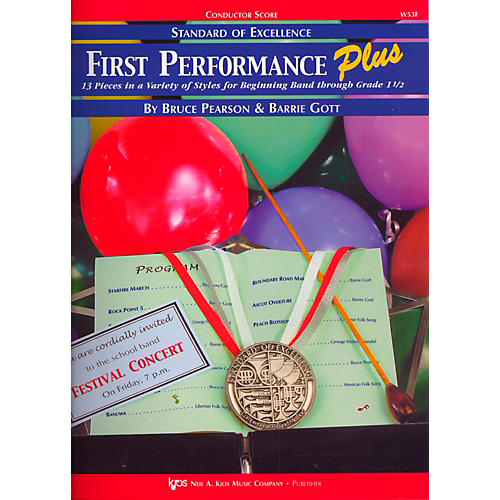 KJOS Standard Of Excellence First Performance Plus-COND SCORE thumbnail