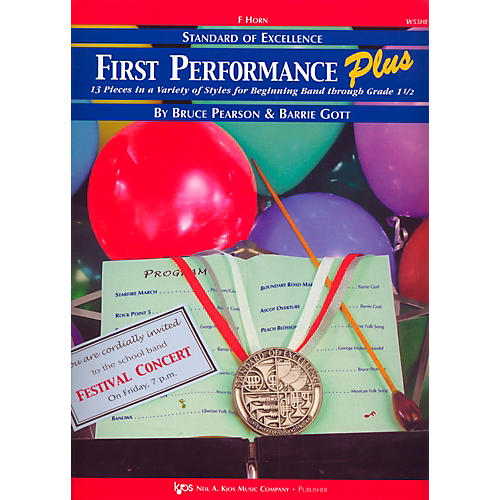 KJOS Standard Of Excellence First Performance Plus-FRENCH HORN thumbnail