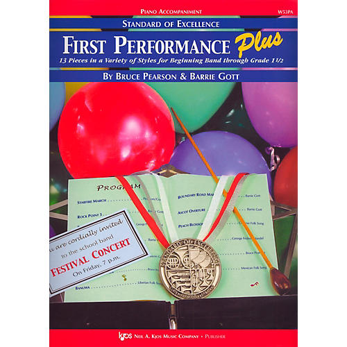 KJOS Standard Of Excellence First Performance Plus-PIANO ACCOMP thumbnail