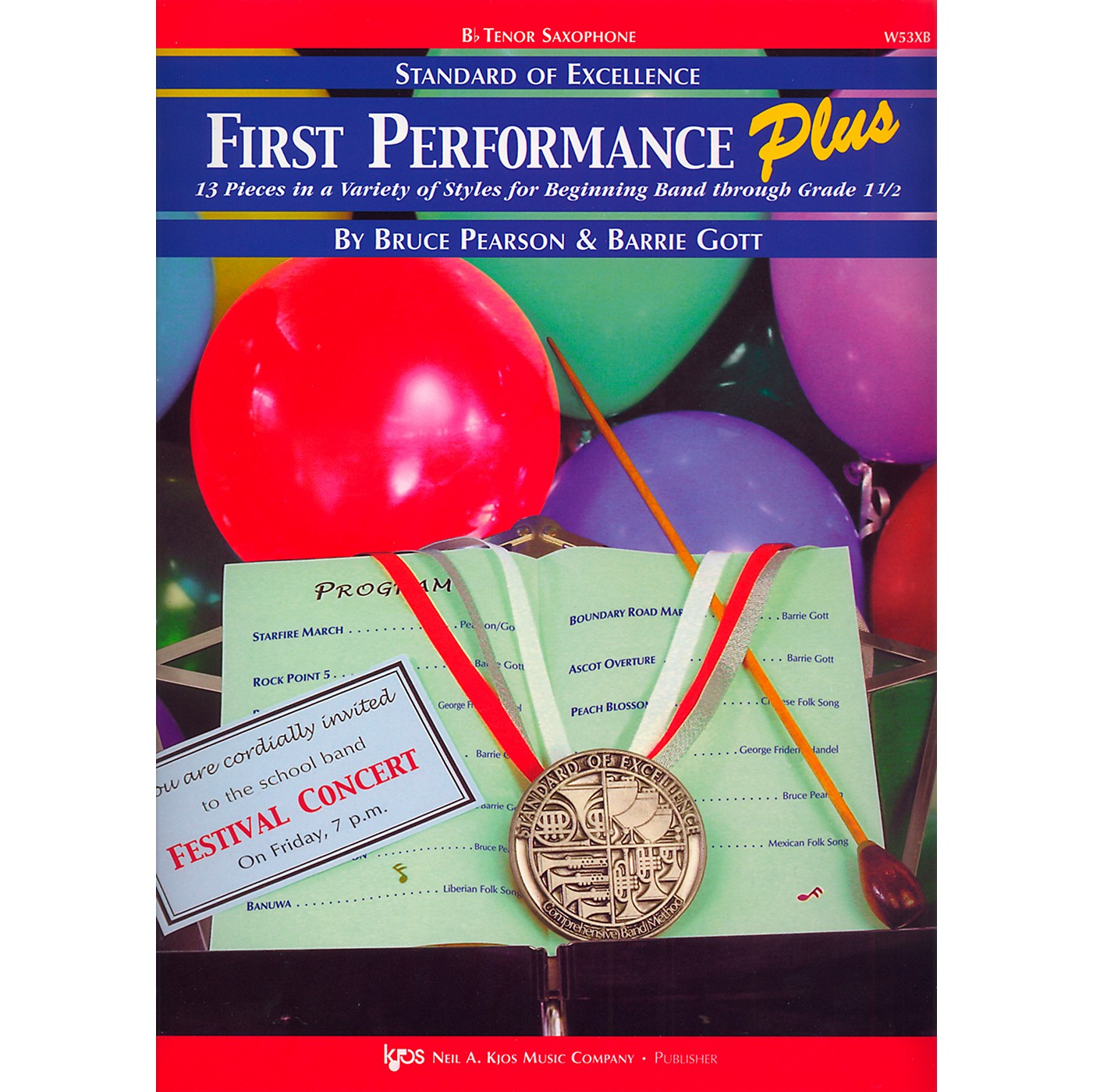KJOS Standard Of Excellence First Performance Plus-TENOR SAX thumbnail