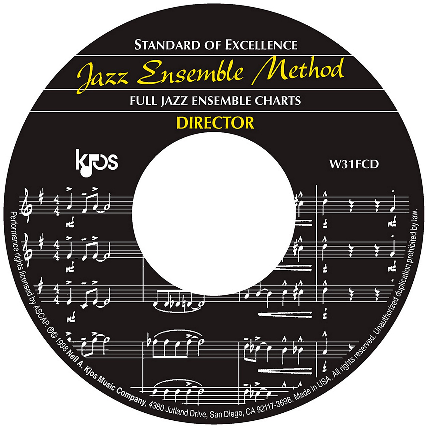 KJOS Standard Of Excellence Jazz Ensemble Book 1, CD/SCORE thumbnail