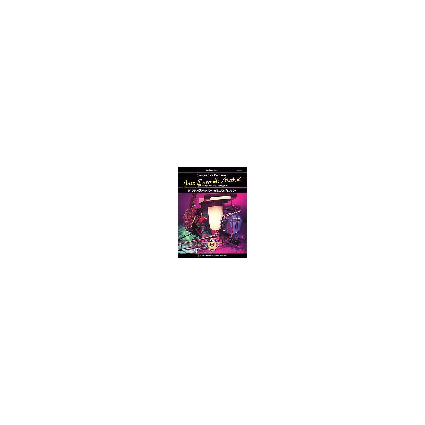 KJOS Standard Of Excellence for Jazz Ensemble 1st Trombone thumbnail