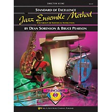 KJOS Standard Of Excellence for Jazz Ensemble Conductor Score