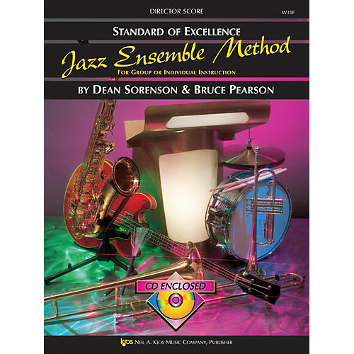 KJOS Standard Of Excellence for Jazz Ensemble Conductor Score thumbnail