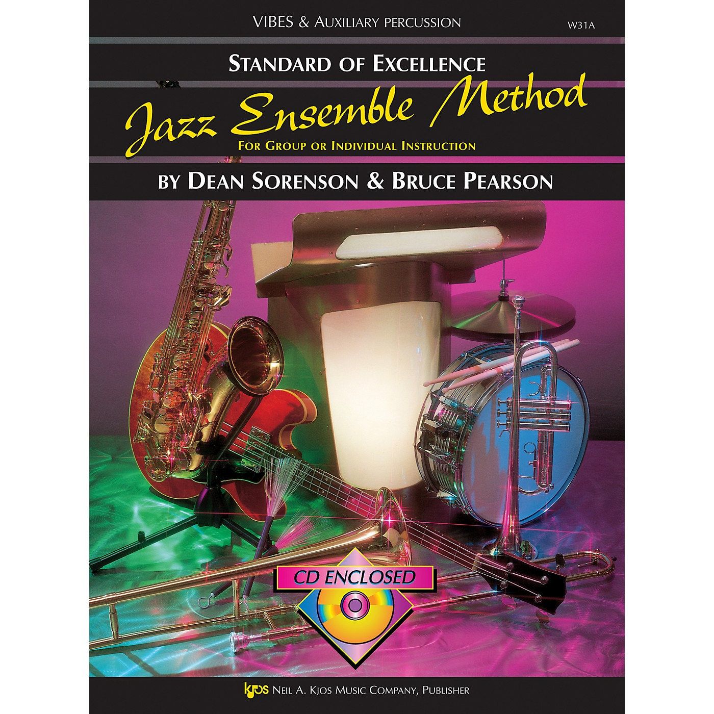 KJOS Standard Of Excellence for Jazz Ensemble Vibes /Aux Percussion thumbnail