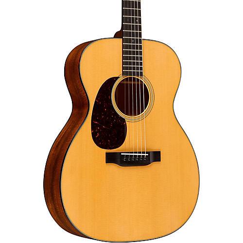 Martin Standard Series 000-18 Auditorium Left-Handed Acoustic Guitar thumbnail