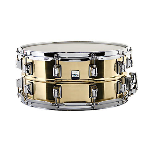Taye Drums Standard Series Brass Snare Drum thumbnail