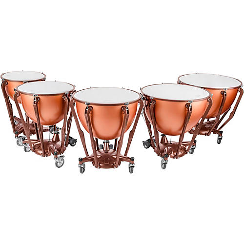 Ludwig Standard Series Fiberglass Timpani Set with Gauge thumbnail