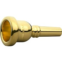 Schilke Standard Series Large Shank Trombone Mouthpiece in Gold