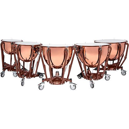 Ludwig Standard Series Polished Copper Timpani Set with Gauge thumbnail