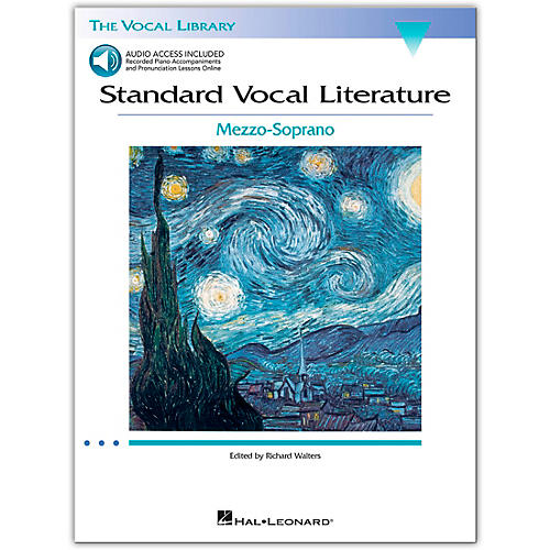 Hal Leonard Standard Vocal Literature - An Introduction To Repertriore for Mezzo Soprano (Book/Online Audio Access)-thumbnail