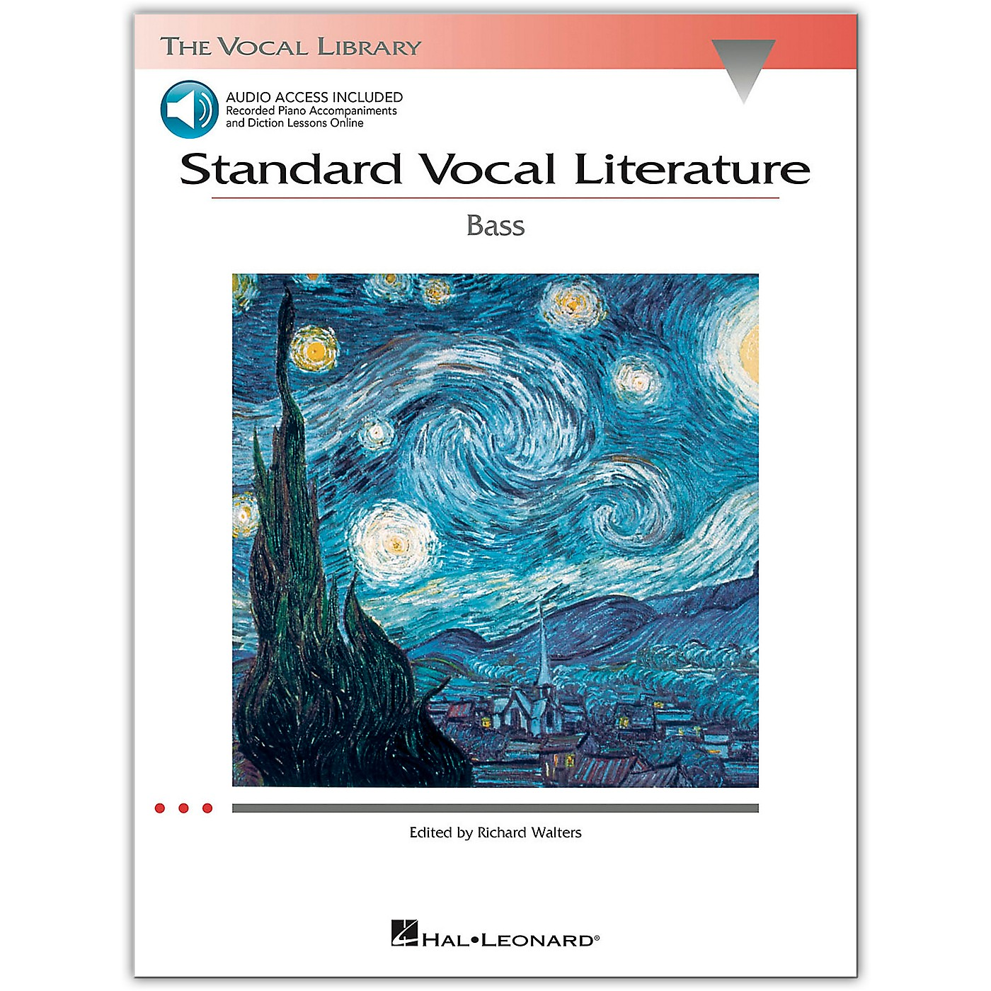 Hal Leonard Standard Vocal Literature for Bass Voice (Book/Online Audio) thumbnail