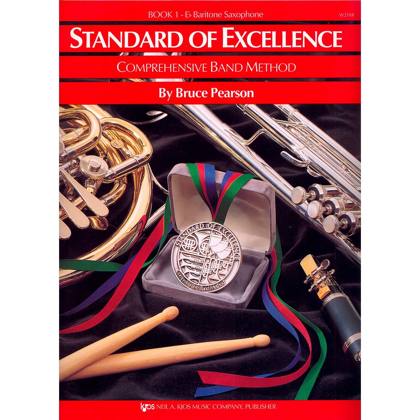 KJOS Standard of Excellence Book 1 Baritone Sax thumbnail