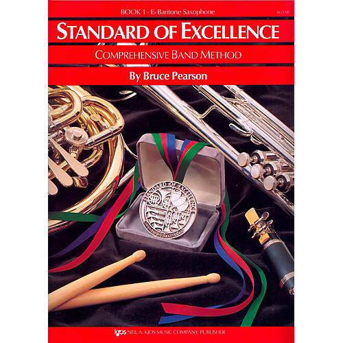 KJOS Standard of Excellence Book 1 Baritone Sax thumbnail