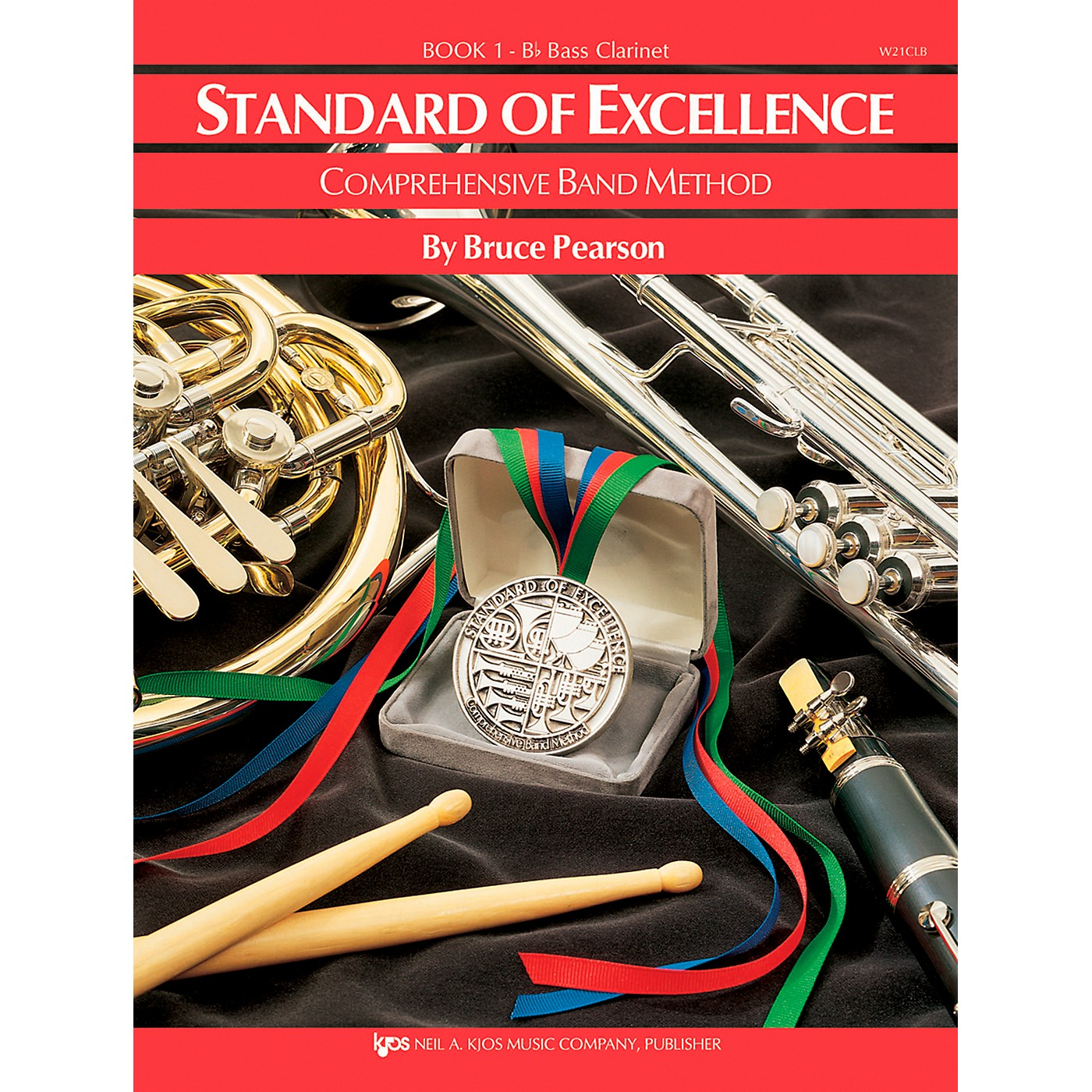 KJOS Standard of Excellence Book 1 Bass Clarinet thumbnail