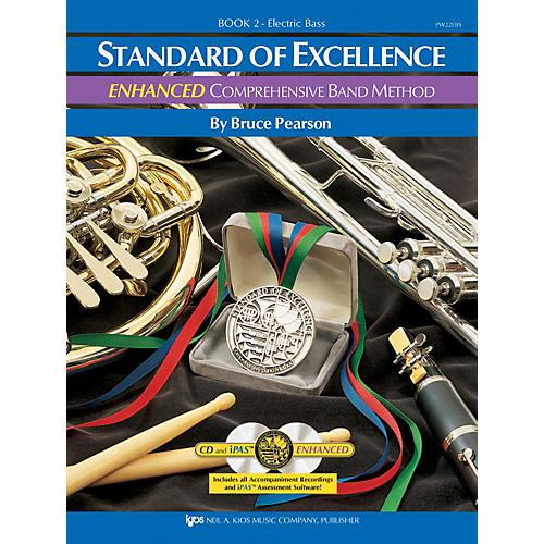 KJOS Standard of Excellence ENHANCED Comprehensive Band Method - Electric Bass Guitar thumbnail
