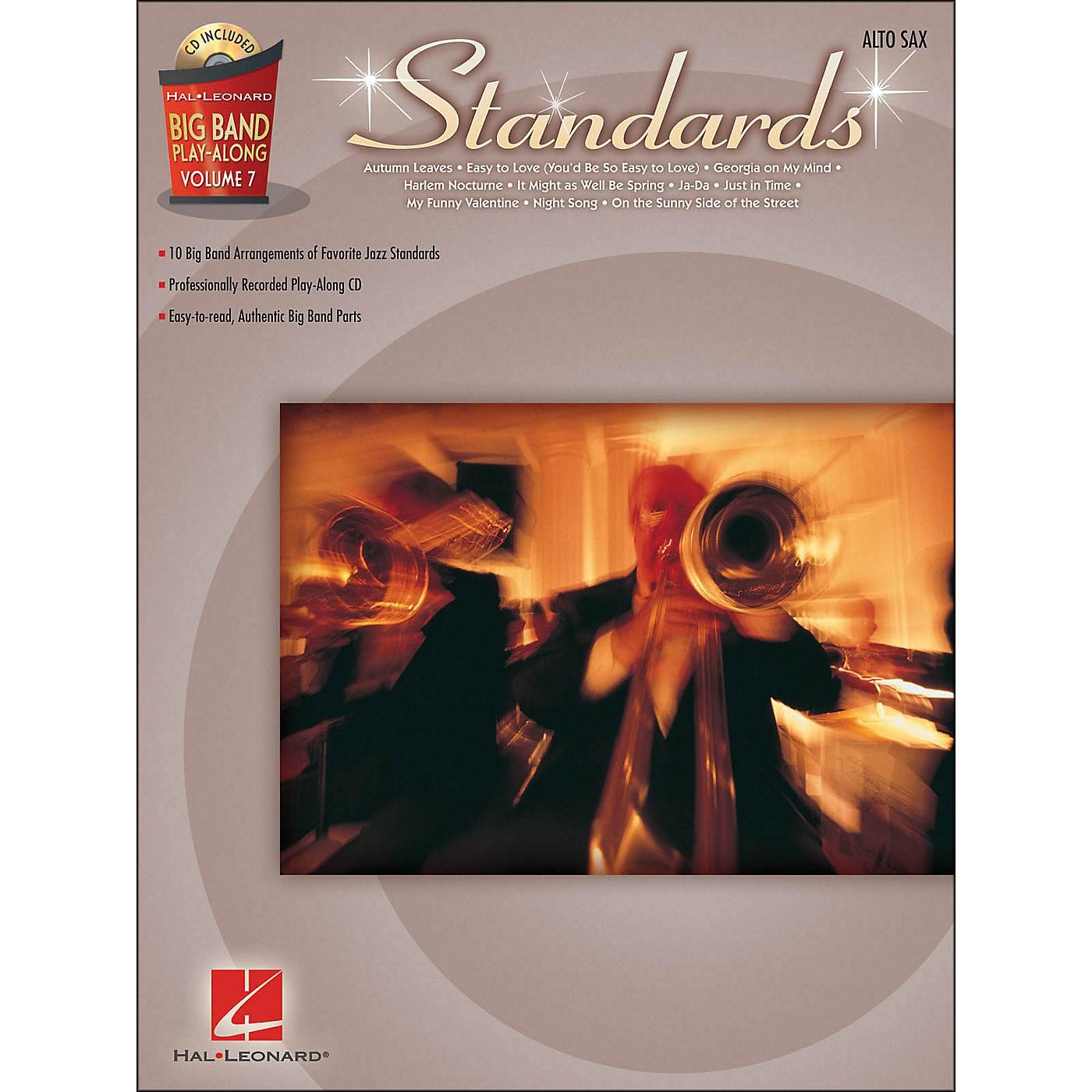 Hal Leonard Standards - Big Band Play-Along Vol. 7 Alto Sax thumbnail