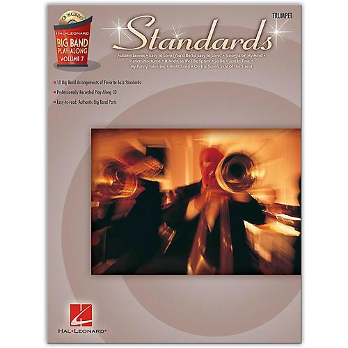 Hal Leonard Standards - Big Band Play-Along Vol. 7 Trumpet thumbnail