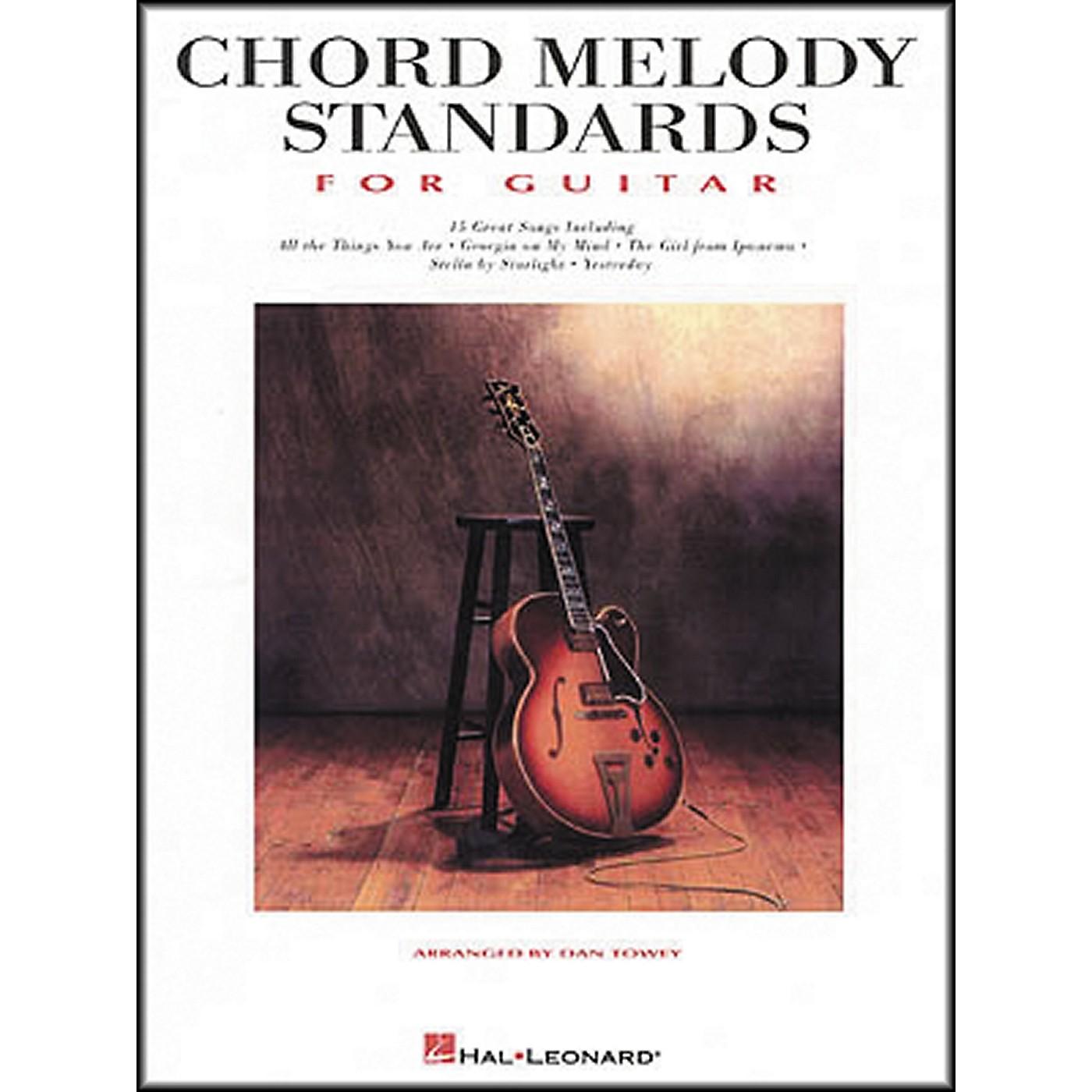 Hal Leonard Standards for Guitar Chords & Melody thumbnail