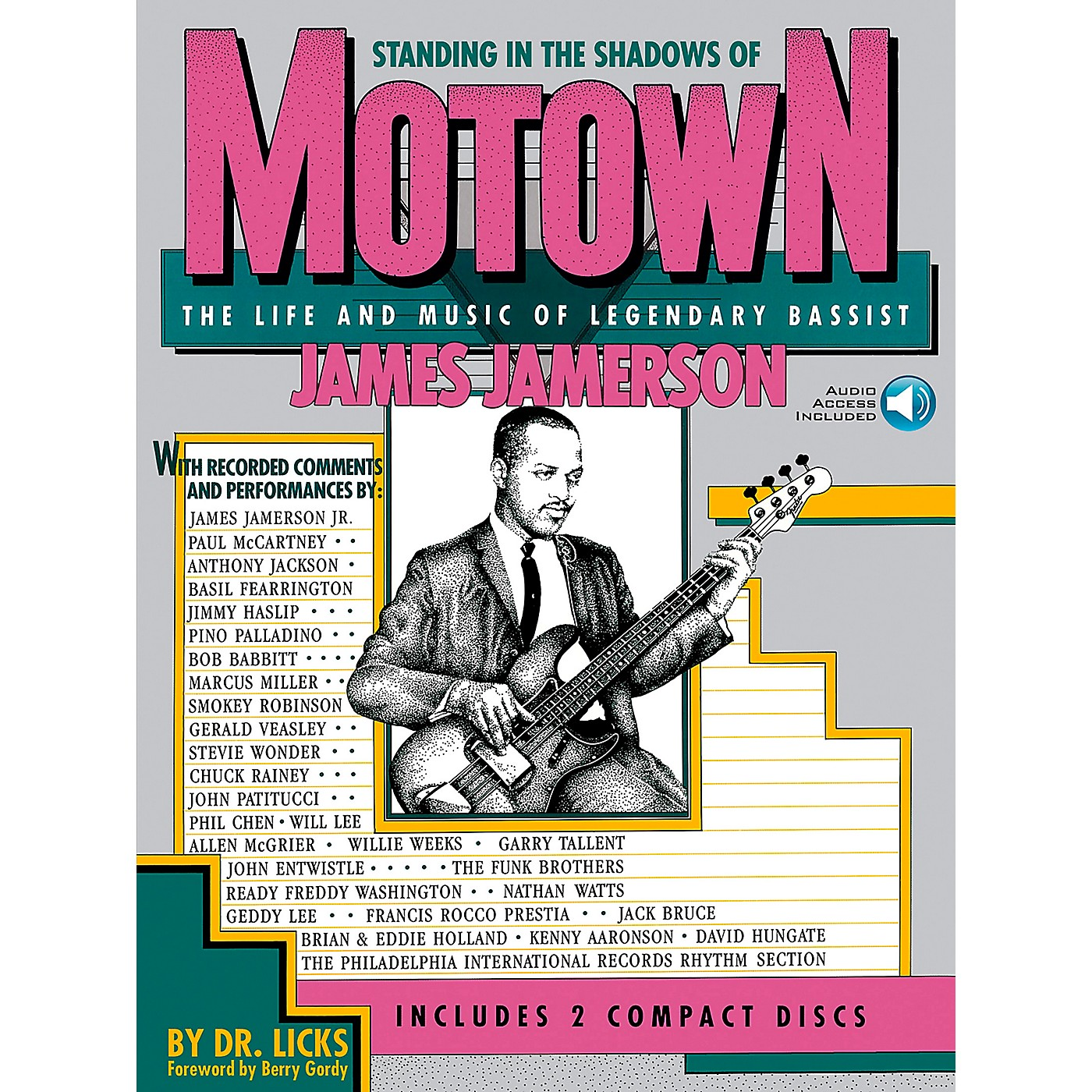 Hal Leonard Standing in the Shadows of Motown Book/Online Audio thumbnail
