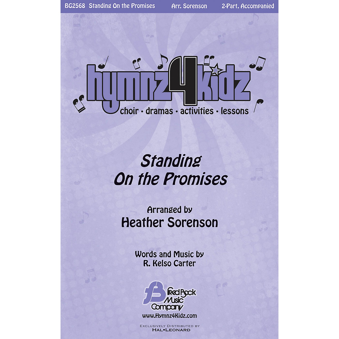 Fred Bock Music Standing on the Promises (Hymnz 4 Kidz Series) Score & Parts Arranged by Heather Sorenson thumbnail