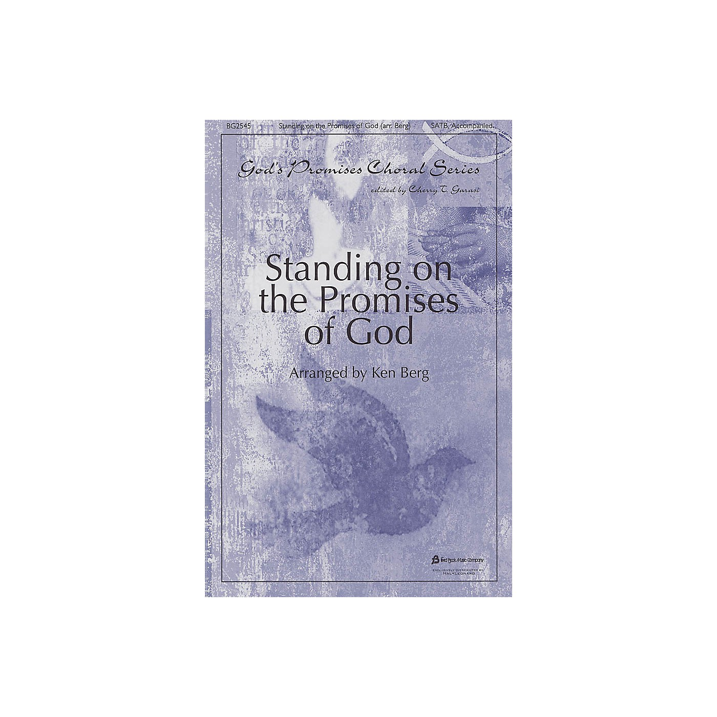Fred Bock Music Standing on the Promises of God (God's Promises Choral Series) SATB arranged by Ken Berg thumbnail