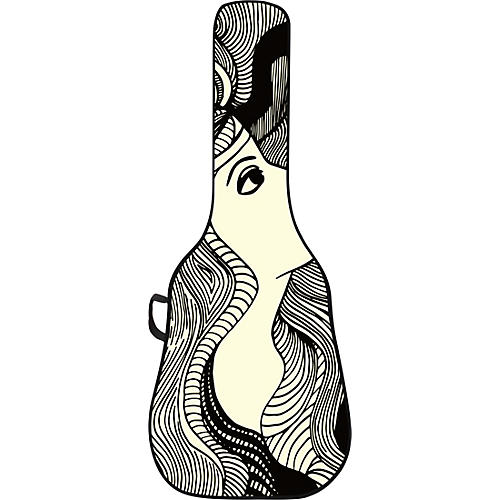 BOLDFACE Star Gazer Acoustic Guitar Gig Bag w/ Graphic Face Panel thumbnail
