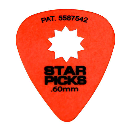 Everly Star Grip Guitar Picks (50 Picks) thumbnail