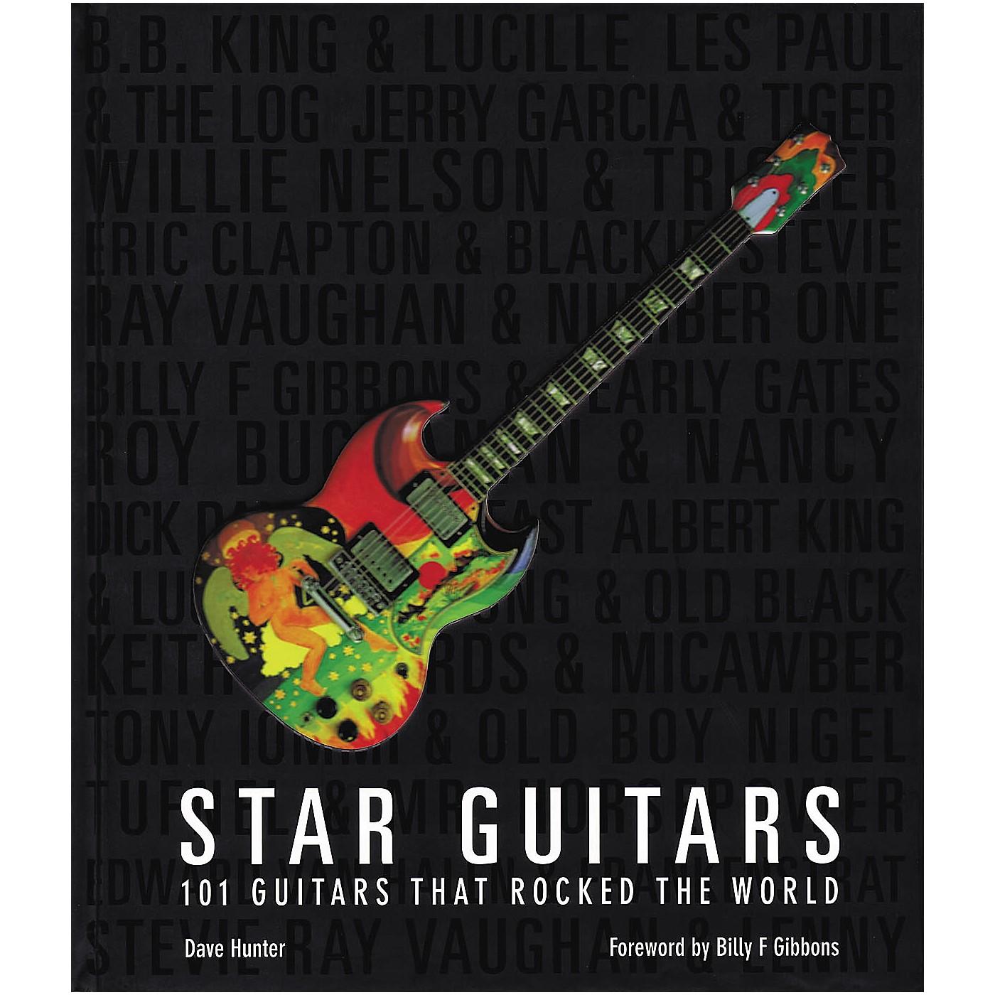 Hal Leonard Star Guitars: 100 Guitars That Rocked the World Book thumbnail