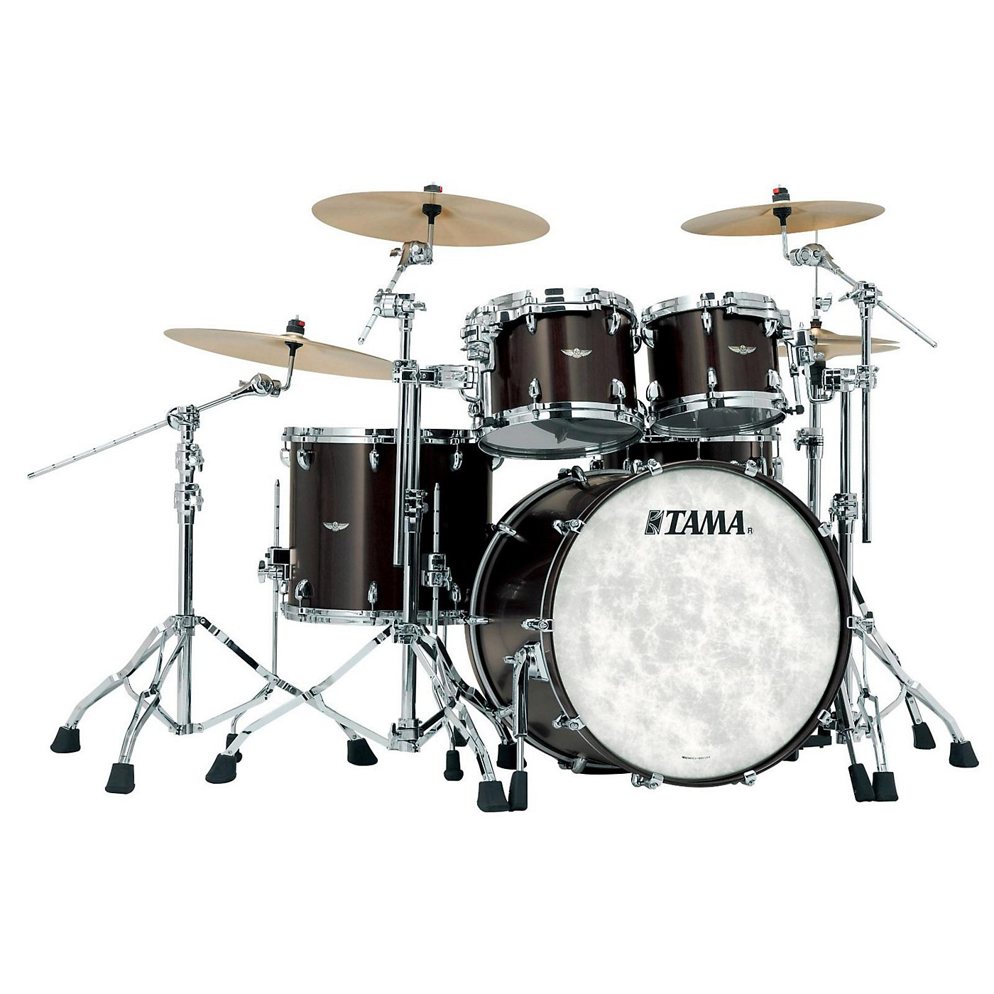 TAMA Star Walnut 4-Piece Shell Pack thumbnail