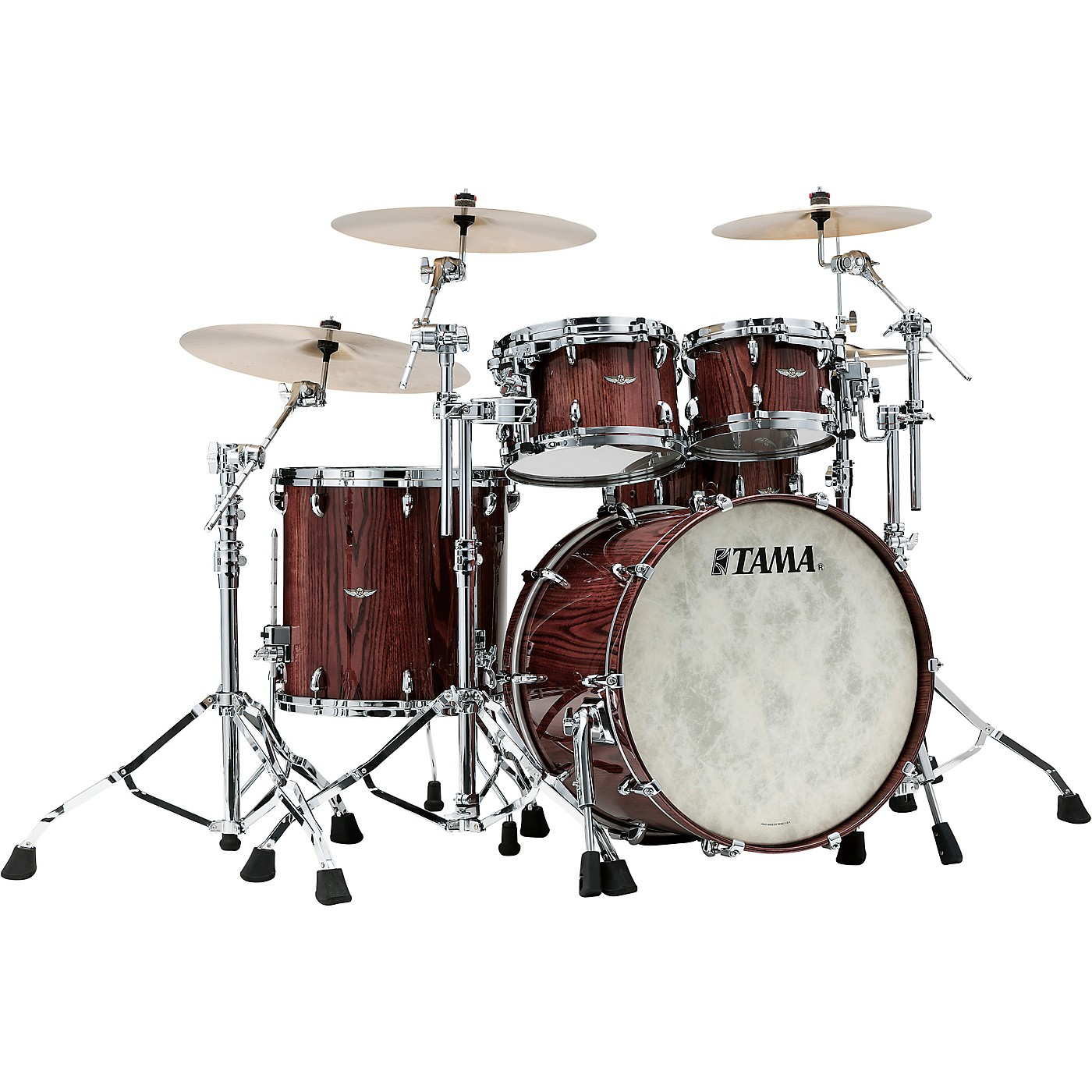 TAMA Star Walnut 4-Piece Shell Pack with 22 in. Bass Drum thumbnail