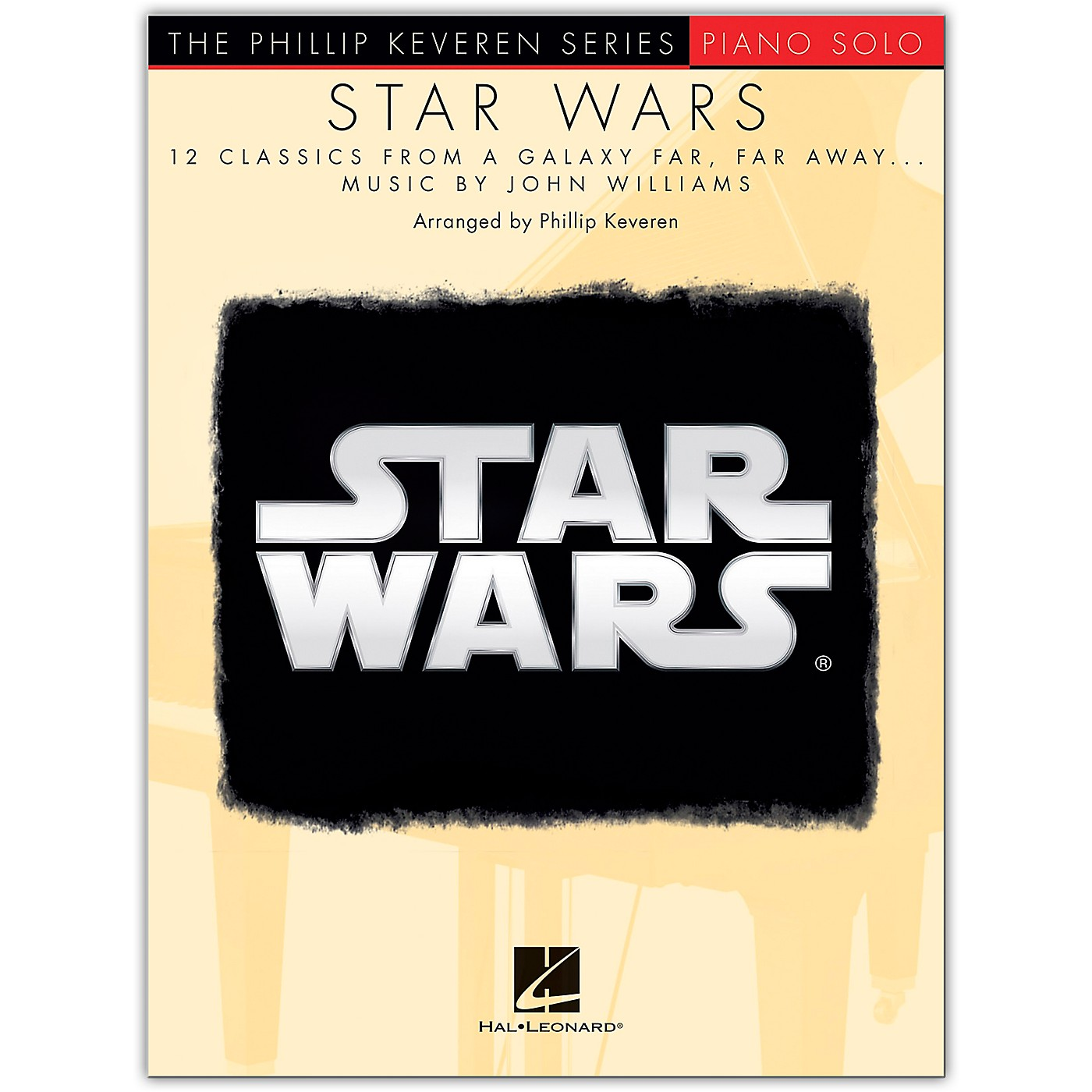 Hal Leonard Star Wars - 12 Classics for Piano Solo from The Phillip Keveren Series thumbnail